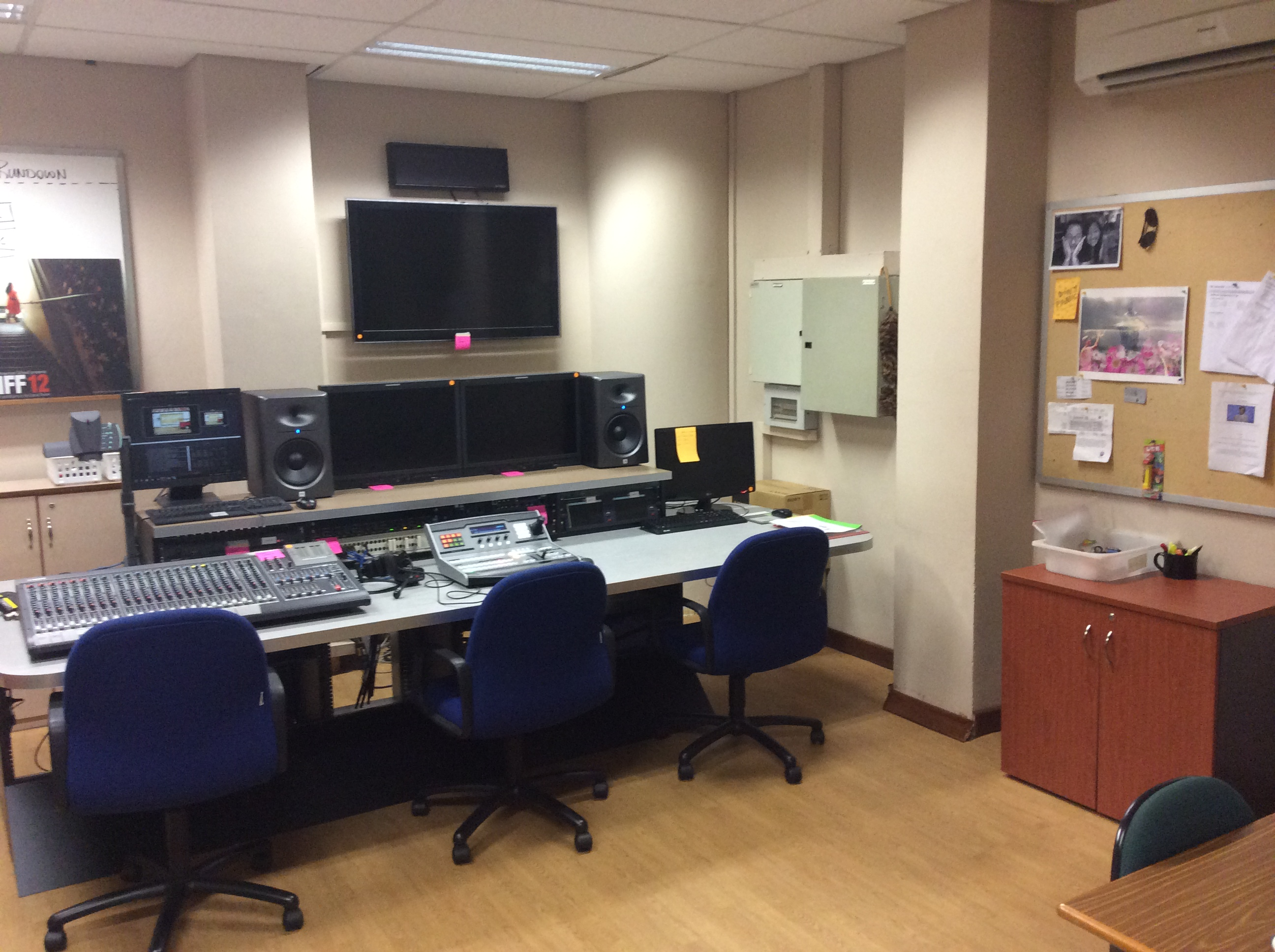 Singapore School- Production room